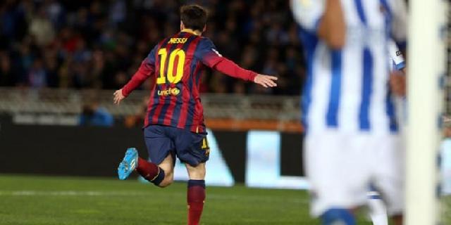 Barcelona ke Final, El Clasico Tercipta di Copa del Rey