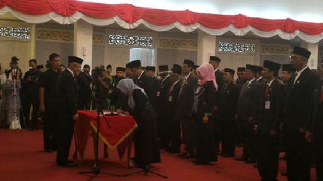 Pejabat Non Job Turut Saksikan Pelantikan dan Pengukuhan OPD Pemprov Riau