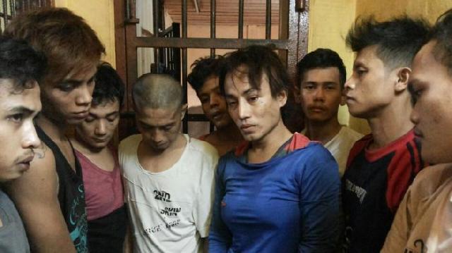 14 Tahanan Polsek Bukit Raya Pekanbaru Kabur