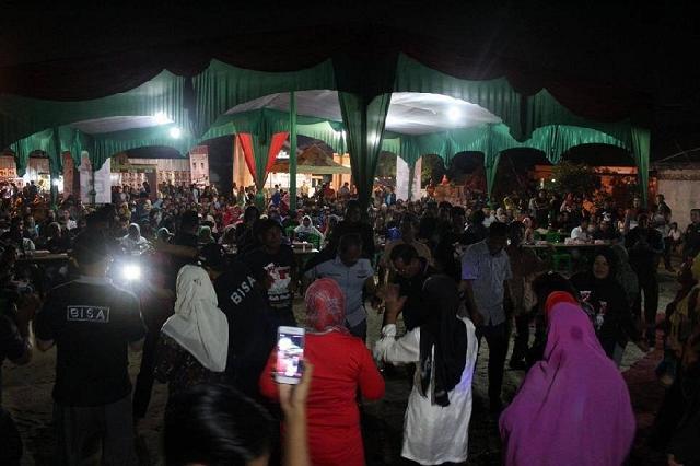 Kampanye di tiga tempat, ribuan warga antusias hadiri kampanye pasangan BISA