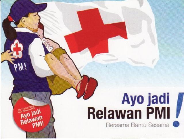 Relawan  PMI Dilatih Tanggap Bencana Kebakaran Pekanbaru