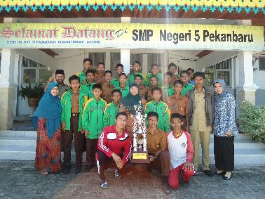 SMPN 5 Pekanbaru Wakili Riau Dalam LPI Tingkat Nasional