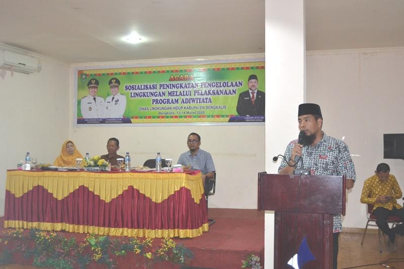 Diikuti 84 Peserta Perwakilan Sekolah, DLH Bengkalis Gelar Program Adiwiyata
