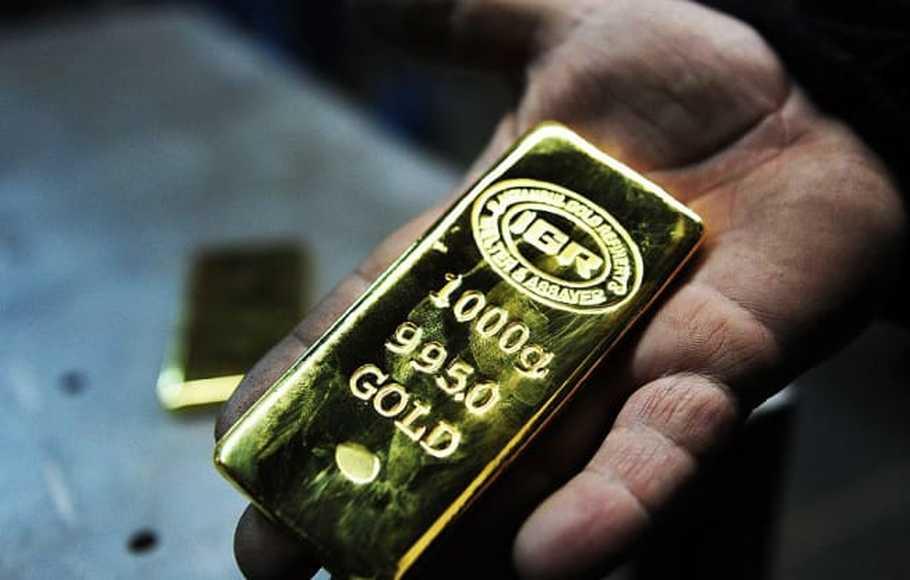 Harga Emas Melonjak karena Kekhawatiran Kenaikan Inflasi