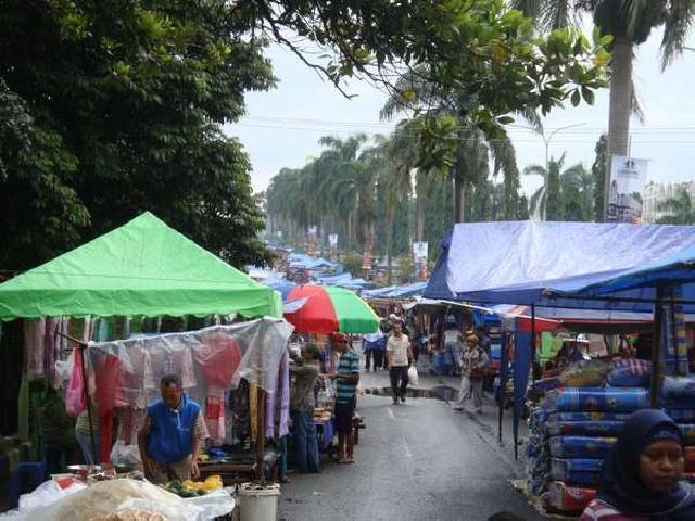 Pemko Pekanbaru Diminta Bina Pasar Kaget