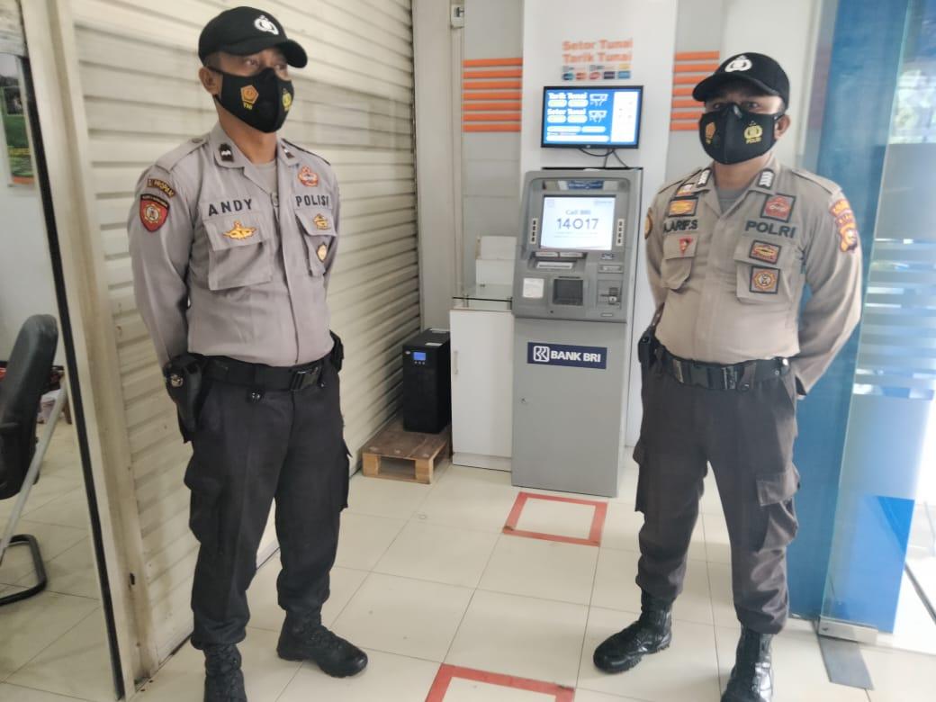Pantau Keamanan Wilayah, Polsek Pangkalan Lesung Lakukan Patroli C3