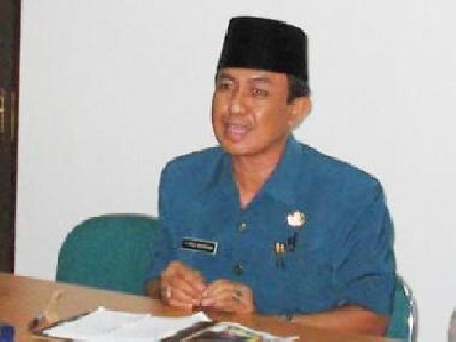 Bupati Indragiri Hilir Berjanji Tingkatkan Kinerja Tahun 2015