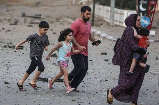 Ngeri, Tank Israel Kepung Palestina, 113 Orang Tewas, 580 Luka