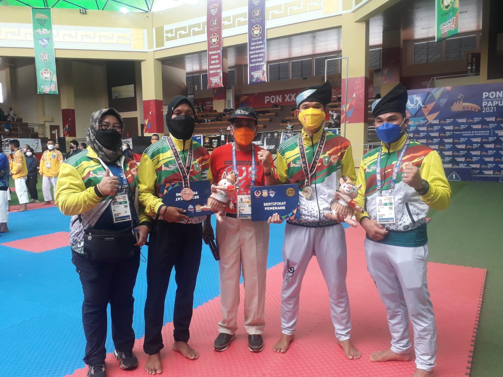 Kenshi Riau, Maulana Rasyid Sumbang Medali Emas Kalahkan Atlet Pelatnas