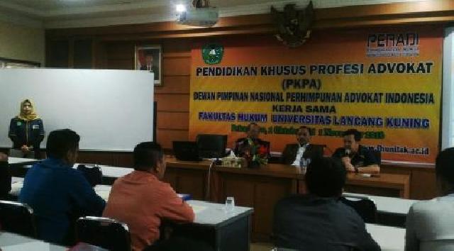 Fakultas hukum Unilak Gelar PKPA