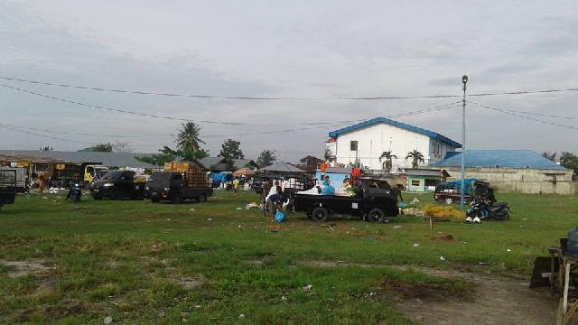 Banyak Pungli di Terminal BRPS, Pedagang Pindah Bongkar Muat Ke Purwodadi