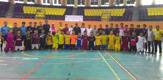 Tim Pra PON Riau Berpeluang ke Perdelapan Final Kejurnas Futsal Rhapely Specs Cup
