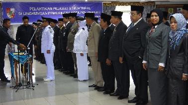 Nama Pejabat Pemko Pekanbaru yang Dilantik