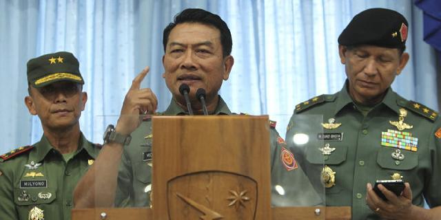 Panglima sebut 2 intel TNI dibunuh terkait penemuan ladang ganja