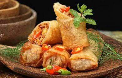 Berikut Resep Makanan Paling Mudah Dibuat: Lumpia Sayur Pedas