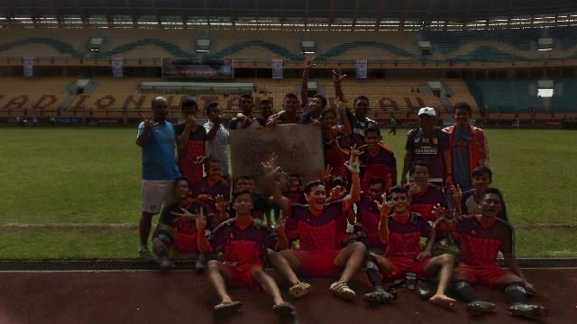 Bungkam Rohil 4-0, Kuansing Peringkat Ketiga Piala Gubernur Riau 2017