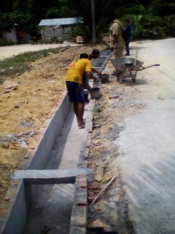 Desa Sibangar Laksanakan 7 Paket Proyek