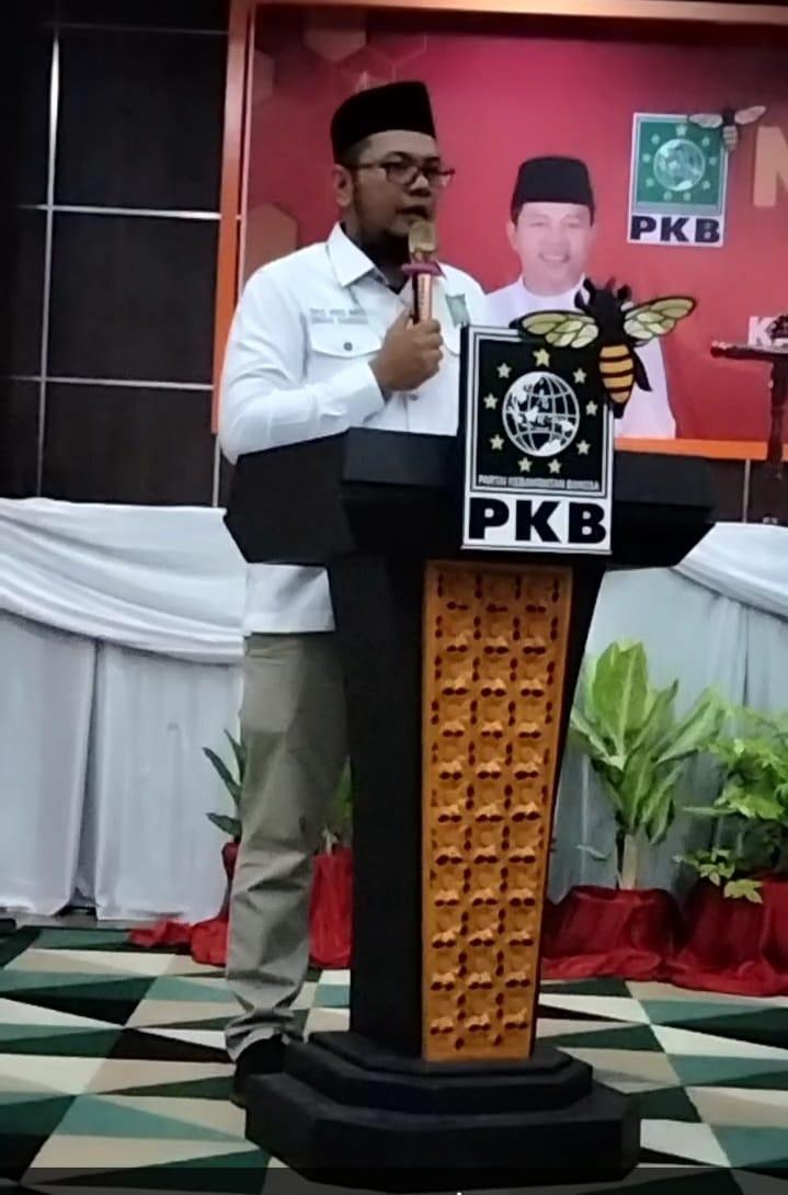 Muscab Ke-V, Iwan Taruna Dikukuhkan Sebagai Ketua DPC PKB Inhil Periode 2021-2026