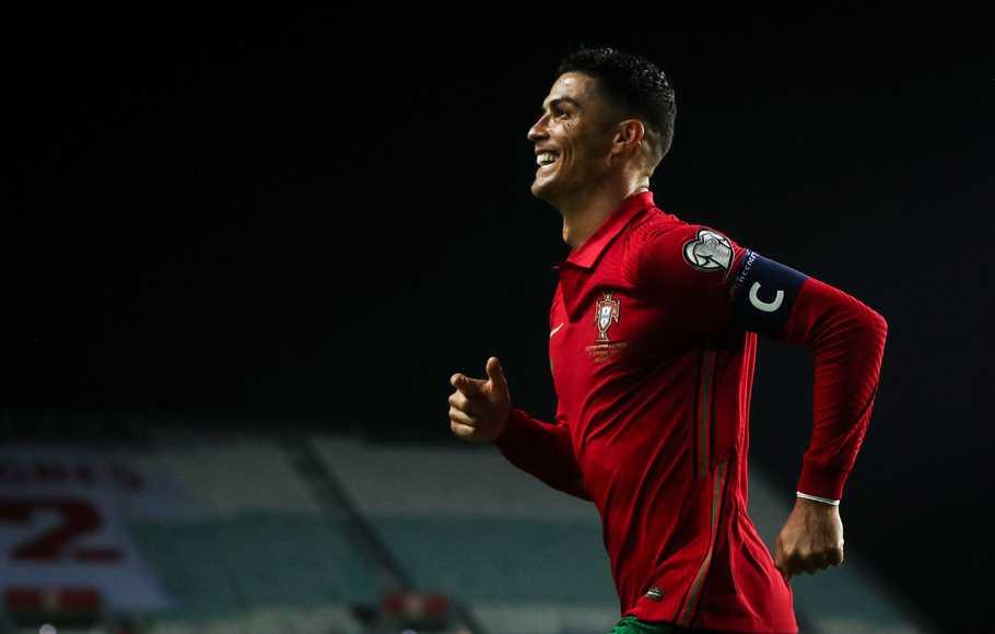 Kualifikasi Piala Dunia 2022: Cetak Hattrick, Ronaldo: Saya Tidak Pernah Puas