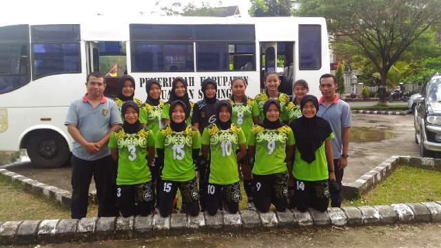 Tim Putri Kuansing Masuk Final Kejurda Bola Voli Yunior