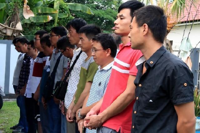 11 warga asal RRC terjaring razia BNN