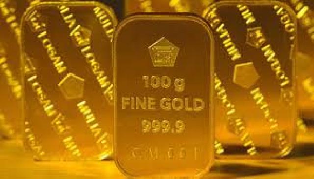Harga emas kembali ke posisi Rp 586.000 per gram