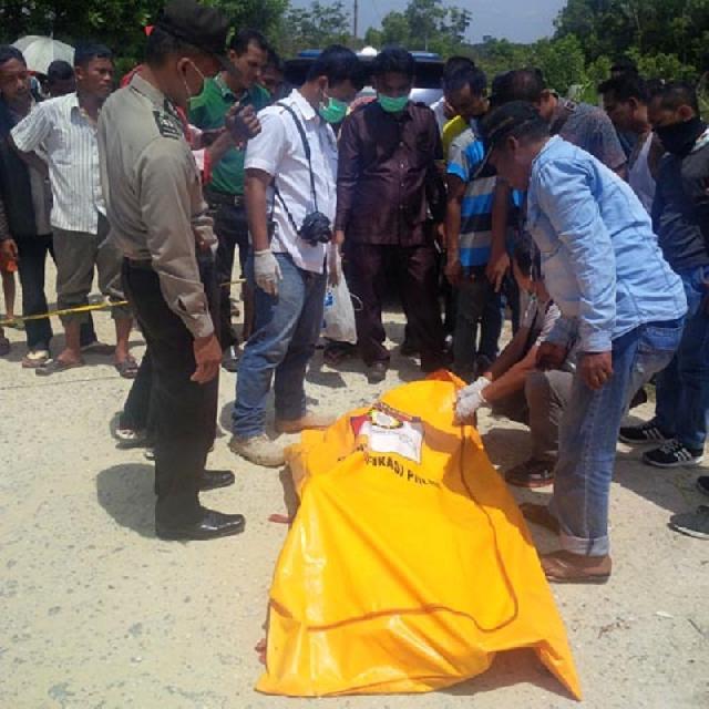 Ini Identitas Korban yang Diduga Dibunuh di Jalan Air Hitam Pekanbaru