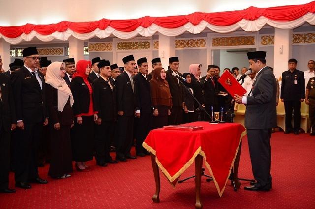 BKD Riau Masih Menunggu Arahan Pelantikan Pejabat Eselon III dan IV