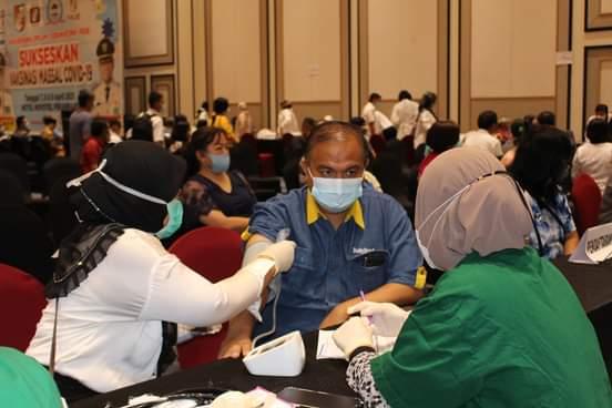 Diskes Pekanbaru Pastikan Vaksinasi Tetap Berlanjut Selama Ramadhan