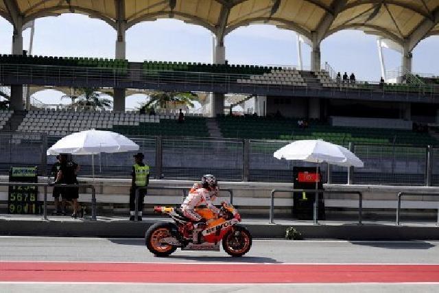 Marquez Tercepat, Rossi Tempati Posisi Kedua