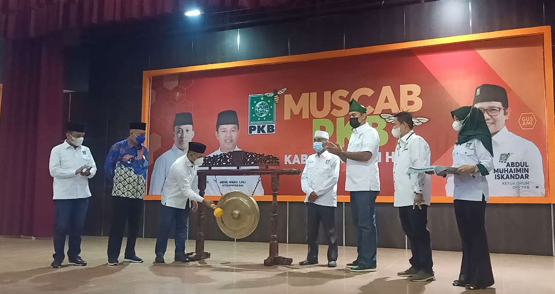 Ketua DPW PKB Riau Resmi Buka Muscab Ke-V DPC PKB Inhil