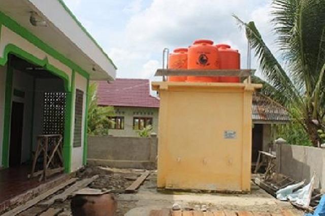 Jamaah Masjid At Tagwa Inhil kini tak khawatir terkait air wudhu