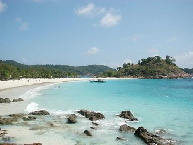 Pulau Jemur Jadi Tempat Kunjungan Wisata di Rohil