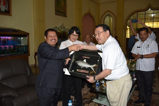 Bupati Amril Dapat Undangan Khusus Walikota Ube, Jepang