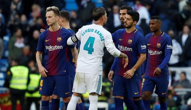 Pukul Suarez, Ramos: Di Barcelona Saya Akan Dituntut Penjara