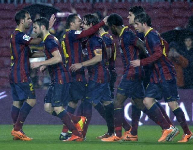 Cukur Levante, Barca Melenggang ke Semifinal