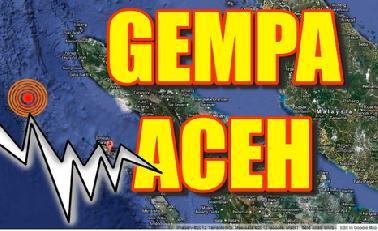 Gempa 6 SK Guncang Aceh Barat