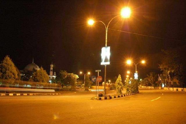 Pemko Menunggak Rp19,8 M, Lampu Jalan di Pekanbaru Terancam Diputus Mulai Besok