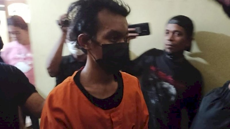 Pembakar Mimbar Masjid Raya Makassar Positif Narkoba