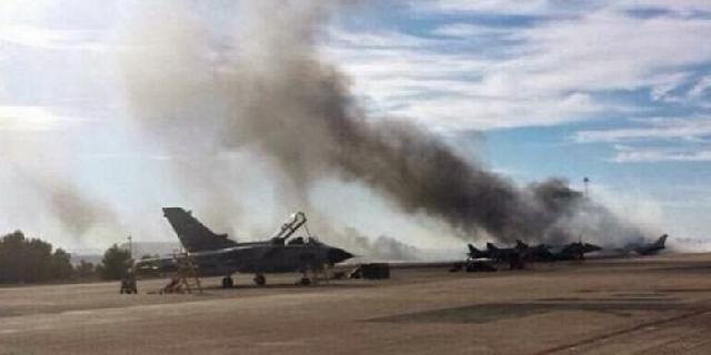 Pesawat F-16 Jatuh Saat Pembaretan Presiden Jokowi
