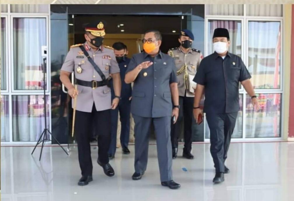 Ketua DPRD Riau Hadiri Pelantikan dan Pengambilan Sumpah Diktukba Polri