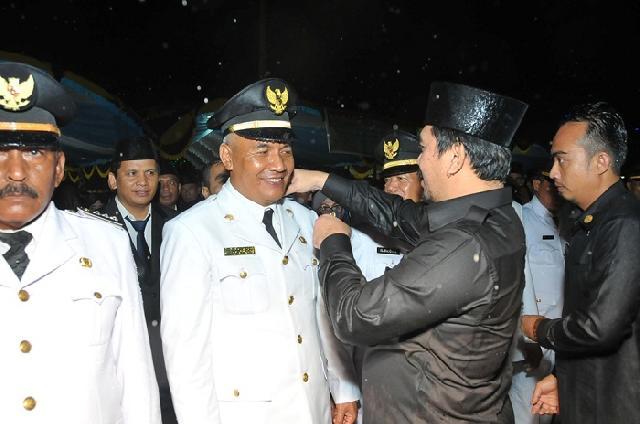 Wabup Khairizal Lantik Ratusan Pejabat Eselon III dan IV