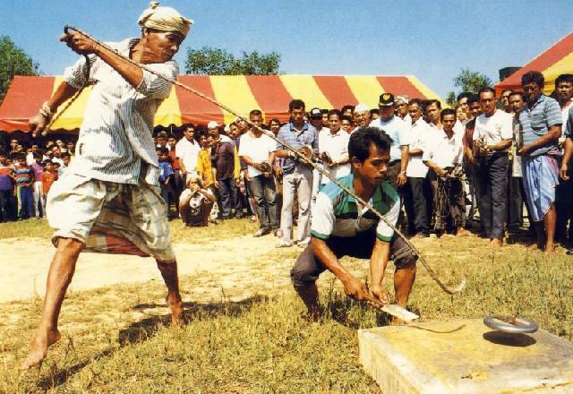 Permainan Tradisional Akan Warnai Hut Provinsi Riau Tahun Ini