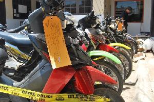 Minimal Sehari ada Satu Laporan Kehilangan Sepeda Motor di Polsek Tampan